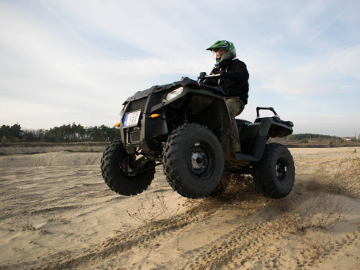 Quad túra Polaris quaddal